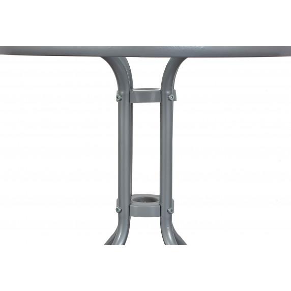 Aga Zahradní stůl MR4350LGY 70x60 cm - šedý