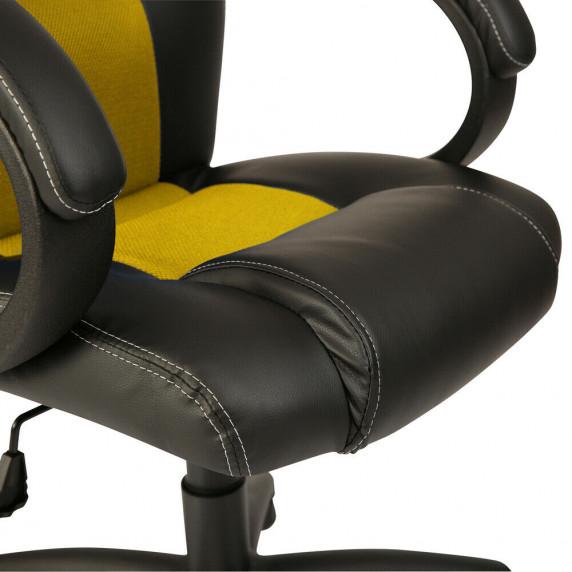 Kancelárské kreslo Racing černá-žluto