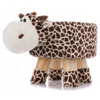 Aga4Kids Dětský taburet - Žirafa