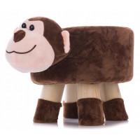 Aga4Kids Dětský taburet - Opice