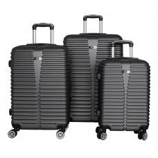 Cestovní kufry  Aga Travel MC3080 S,M,L - šedé Preview