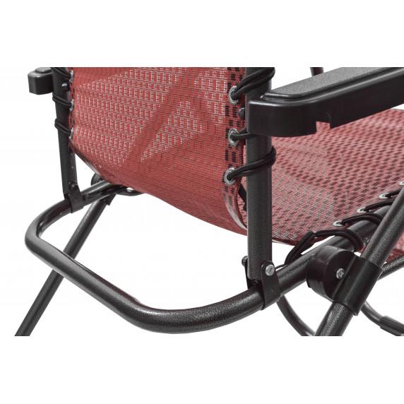 Zahradní křeslo Linder Exclusiv AERO GRT MC3749 - červeno/černé