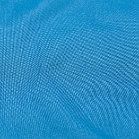 Dřevěné skládací lehátko AGA - světle modré