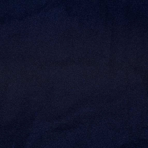 Dřevěné skládací lehátko AGA - tmavě modré