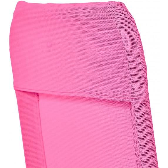 Aga Zahradní lehátko SIESTA MC372171PI - Pink
