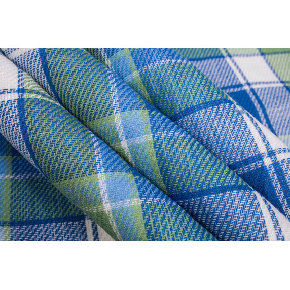 Tresko Pikniková deka PNDKE21 modro-zelená