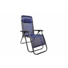 Zahradní křeslo Linder Exclusiv AERO GRT MC3746 - modro/černé Preview