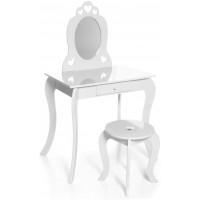 Aga4Kids Dětský toaletní stolek MRDTC01W - bílý