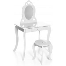 Aga4Kids Dětský toaletní stolek MRDTC01W - bílý Preview