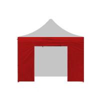 AGA Bočnice s dveřmi PARTY 3x3 m - červená