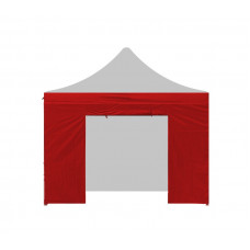AGA Bočnice s dveřmi PARTY 3x3 m - červená Preview