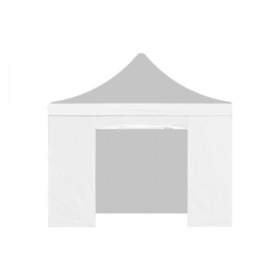 AGA Bočnice s dveřmi PARTY 3x3 m - bílá