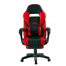 Kancelářská židle s opěrkou pro nohy AGA - černo-červvená Preview