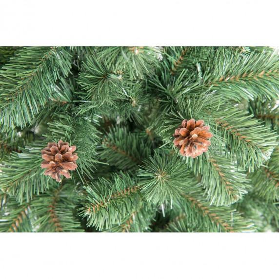 Aga Vánoční stromeček Jedle s šiškami 220 cm