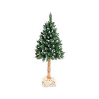 Aga Vánoční stromeček 160 cm s kmenem bez šišek