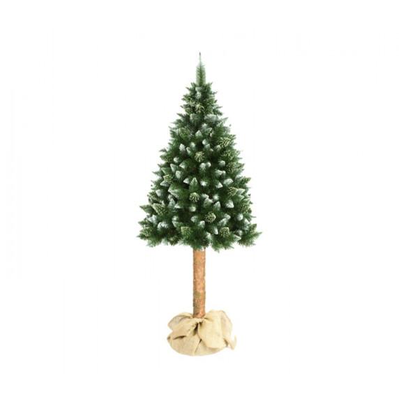 Aga Vánoční stromeček 180 cm s kmenem bez šišek