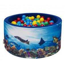 Aga Suchý bazén 90x40 cm s míčky 232 Preview