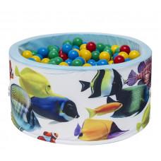 Aga Suchý bazén 90x40 cm s míčky 249 Preview