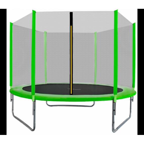 Aga SPORT TOP Trampolína 305 cm Light Green + ochranná síť