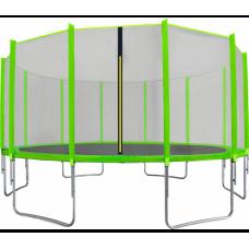 AGA SPORT PRO Trampolína 500 cm + ochranná sieť Light Green Preview
