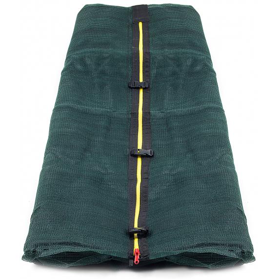 AGA vnitřní ochranná síť na trampolínu 366 cm - 8 tyčí - Dark Green