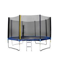 Trampolína XXL 460 cm Linder Exclusiv + ochranná síť + žebřík + krycí plachta