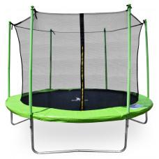 Aga SPORT FIT Trampolína 305 cm Light Green + vnitřní ochranná síť Preview