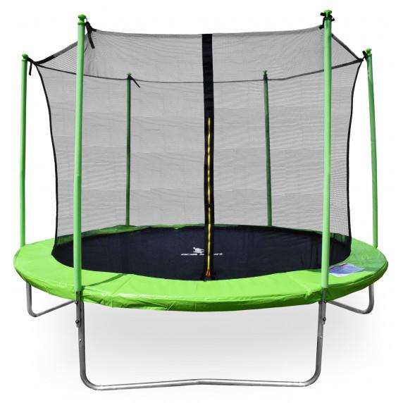 Aga SPORT FIT Trampolína 250 cm Light Green + vnitřní ochranná síť