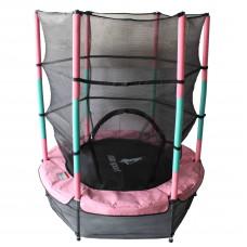 Aga Dětská trampolína 140 cm Pink/Dark Green + ochranná síť Preview