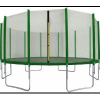 AGA SPORT PRO Trampolína 500 cm + ochranná sieť Green