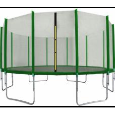 AGA SPORT PRO Trampolína 500 cm + ochranná sieť Green Preview