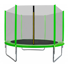Aga SPORT TOP Trampolína 250 cm Light Green + ochranná síť Preview