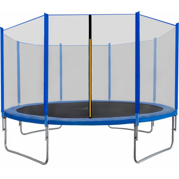 AGA SPORT PRO Trampolína 430 cm + ochranná sieť Blue