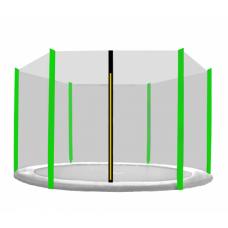 Ochranná síť na trampolínu 430 cm na 6 tyčí Preview