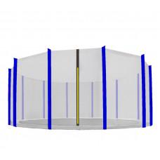 Aga Ochranná síť 488 cm na 12 tyčí Black net / Blue Preview