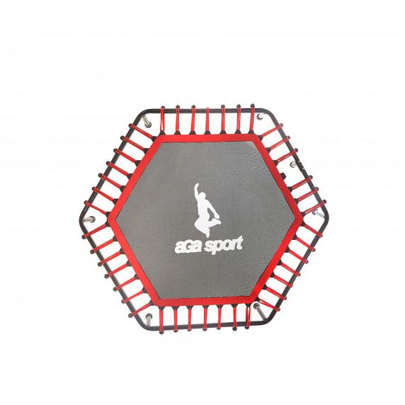 Odrazová plocha na fitness trampolínu 130 cm Aga - červená