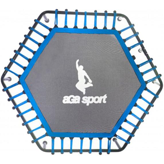 Odrazová plocha na fitness trampolínu 130 cm Aga - modrá