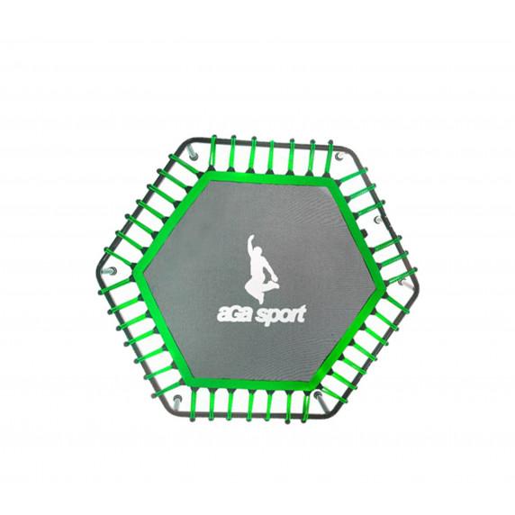 Odrazová plocha na fitness trampolínu 130 cm Aga - zelená