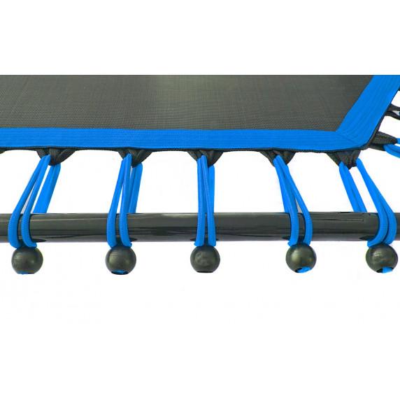 Aga FITNESS Trampolína 130 cm Blue + madlo