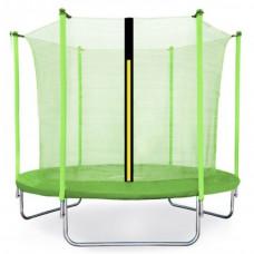 Aga SPORT FIT Trampolína 250 cm Light Green + vnitřní ochranná síť Preview