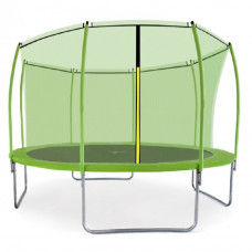 Aga SPORT FIT Trampolína 366 cm Light Green + vnitřní ochranná síť Preview