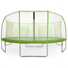 Aga SPORT FIT Trampolína 430 cm Light Green + vnitřní ochranná síť Preview