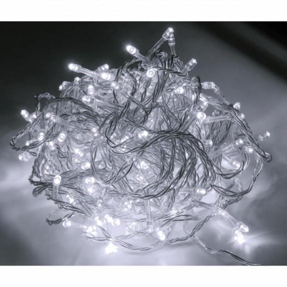 Linder Exclusiv Vánoční řetěz 300 LED LK014I - Studená bílá