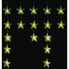 Linder Exclusiv Vánoční světelný závěs Hvězdy 40 LED LK011W - Teplá bílá Preview