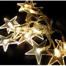 Linder Exclusiv Vánoční světelný řetěz Hvězdy 48 LED LK012W - Teplá bílá Preview