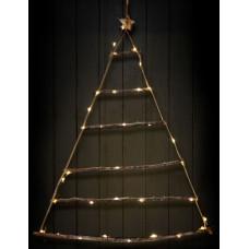 Linder Exclusiv Svítící vánoční stromeček k zavěšení 40 LED LK069W - Teplá bílá Preview