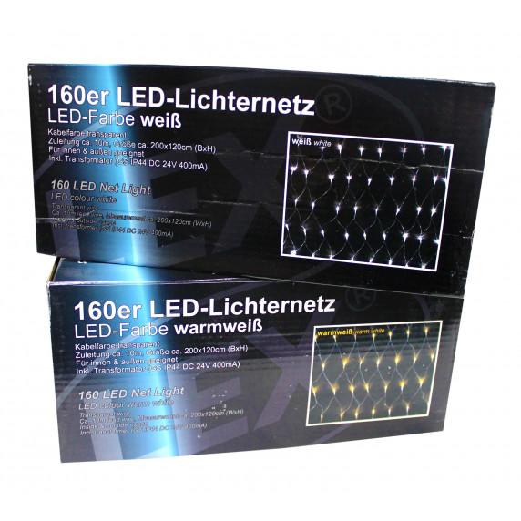 Linder Exclusiv Vánoční světelný déšť 240 LED LK016I Studená bílá