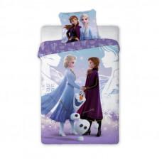 Dětské povlečení 140 x 200 cm Frozen - Elsa, Anna a Olaf Preview