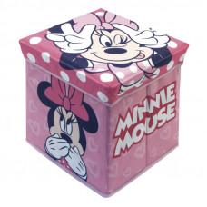 Úložný box na hračky a taburetka Minnie Mouse Preview