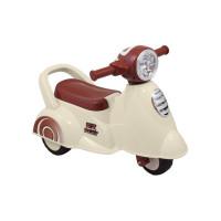 Dětské odrážedlo motorka se zvukem Baby Mix Scooter - bílé